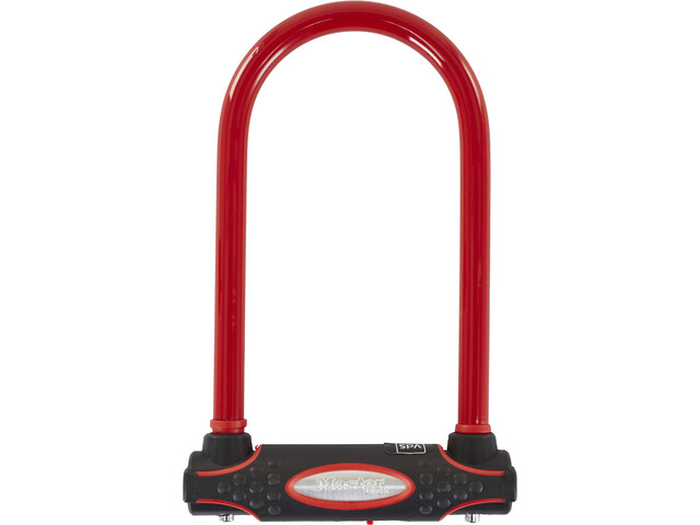 Masterlock 8195 U-Lock 13 mm x 210 mm x 110 mm, red